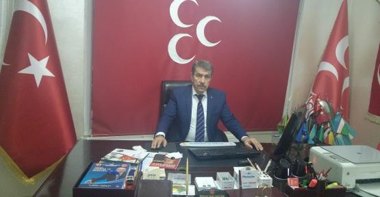 MHP İl Başkanı Cantürk,Ankara'daki Terör Saldırısını Kınadı