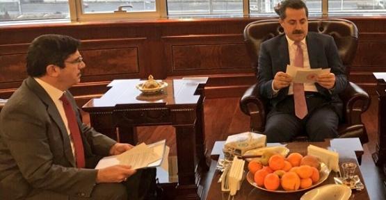 Milletvekilimiz Yasin Aktay, Tarım Bakanı Faruk Çelik'le Görüştü
