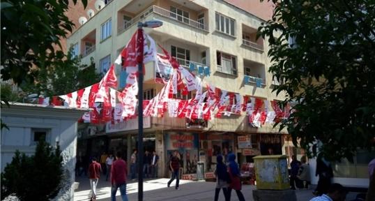 Milli İttifak ve Saadet Partisi Siirt Seçim Lokali'nin Açılışı Yapıldı