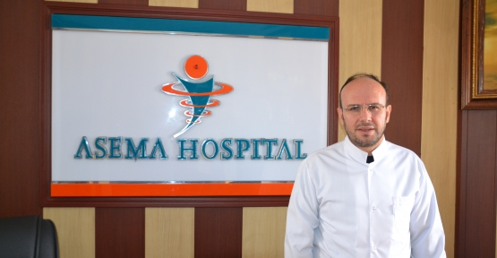 Özel Asema Hospital Dahiliye Doktoru Maden, Uyardı: Öpüşmeyin, El Sıkışmayın