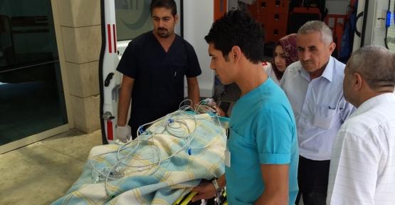 Pervari'de Trafik Kazası 2 Yaralı