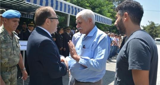 Şehit Polis İçin Siirt'te Tören Düzenlendi