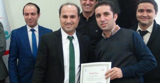 Siirt Devlet Hastanesi'nde Başarılı Çalışanlara Ödül