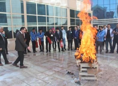 Siirt Devlet Hastanesinde Deprem Tatbikatı