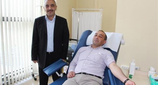 Siirt Esnafı Ahilik Haftası Dolayısıyla Kan Bağışında Bulundular