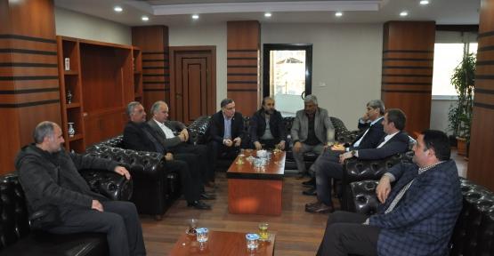Siirt Gazeteciler Derneğinden Belediyeye Ziyaret