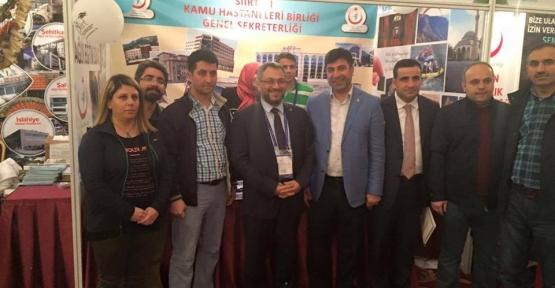 Siirt KHB Antalya'da Kurulan Stantta İlgi Odağı Oldu