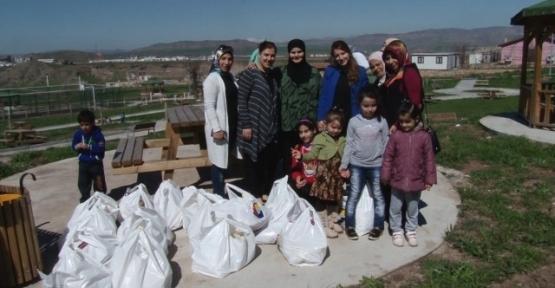 Siirt TSO'dan Suriyelilere Yardım