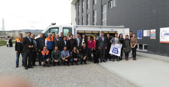 Siirt Üniversitesi DAKİK Kulübü Öğrencileri Kan Bağışında Bulundu
