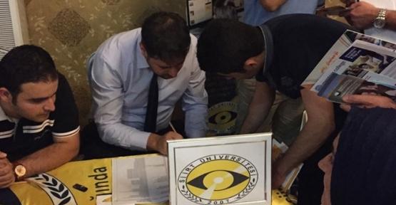 Siirt Üniversitesi Erbil Türk Üniversiteler Fuarı'na Katıldı