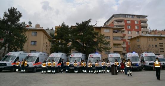 Siirt'te 20 Bin 328 Hasta Ambulans Hizmeti Aldı