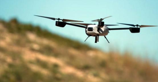 Siirt'te Bir Drone Vuruldu