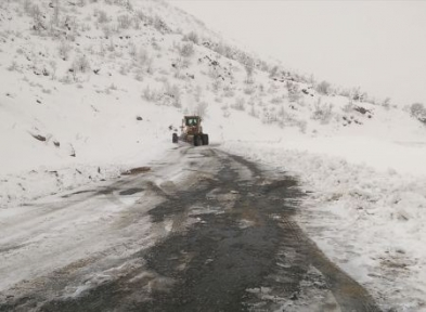 Siirt'te Tüm Koy Yolları Ulaşıma Açıldı