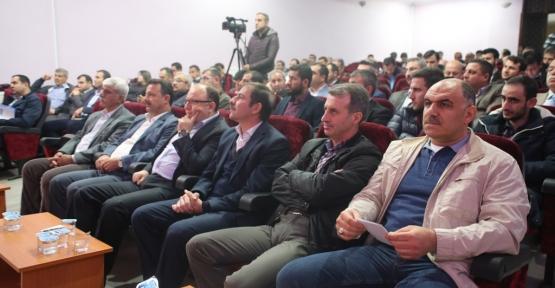 """Siirt'te """"Gençlik Çalıştayı"""" Düzenlendi"""