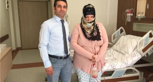 """Siirt'te İlk Kez """"Obezite ve Metabolizma Cerrahisi"""" Ameliyatı Yapıldı"""
