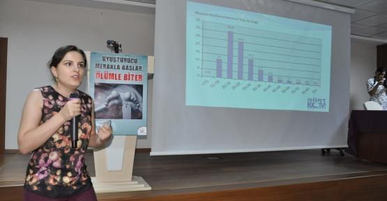 Siirt'te 'Kentte Madde Bağımlılığına Karşı Farkındalık Yaratma' Semineri Düzenlendi