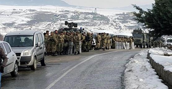 Şırnak'a Gitmek İsteyen 100 Araçlık Konvoya İzin Verilmedi