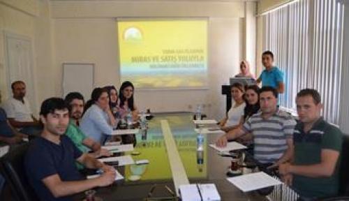 Tarımsal Arazilerin Mülkiyetine İlişkin Uygulama Esasları Bilgilendirme Toplantısı Yapıldı
