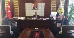 AK Parti Merkez İlçe Başkanı Öner Geyik'ten Kurum Ziyaretleri