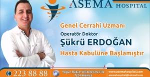 Genel Cerrahi Uzmanı Erdoğan, Özel Asema...