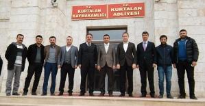 AK Parti İl Teşkilatından, Kurtalan...