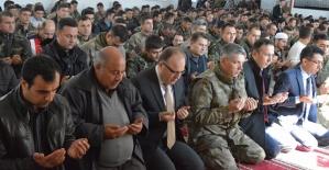 Jandarmada Şehit Askerler İçin Mevlit Okutuldu