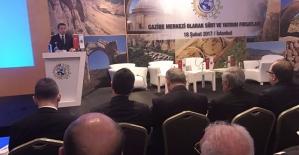 """Siirt TSO Başkanı Güven Kuzu'nun """"Siirt ve Yatırım Fırsatları"""" Çalıştayında Yaptığı Konuşma"""