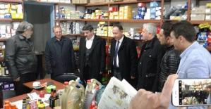 Milletvekilimiz Aktay, Küçük Sanayi Sitesi Esnafını Ziyaret Etti