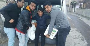 Siirt'te Suriyelilere Yardım