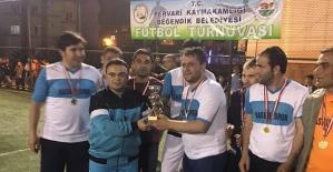 Pervari'de Halı Saha Futbol Turnuvası Sona Erdi