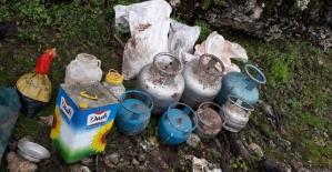 Eruh'ta Bölücü Terör Örgütü Mensuplarına Ait Mühimmat Ele Geçirildi