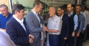 AK Parti İl  Başkanlığında Bayramlaşma Töreni Yapıldı