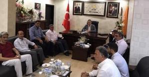 Hüda-Par'dan AK Parti'ye Bayram Ziyareti