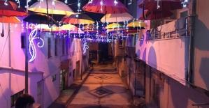 Pervari'de Yapılan Sanat Sokağı Büyük Beğeni Topladı