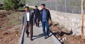 Şirvan Belediye Başkanı Necat Cellek'ten Şehitler Parkı