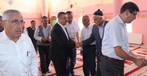 """Şirvan'da, """"15 Temmuz Şehitlerini Anma, Demokrasi ve Milli Birlik Günü""""nde Şehitler İçin Mevlit Okutuldu"""