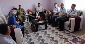 Şirvan'da Şehit Aileleri Ziyaret Edildi...