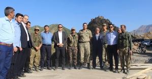 Kaymakam İnan, Başkan Cellek Köy Ziyaretlerinde