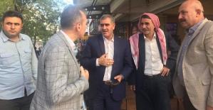 AK Parti İl Başkanı Çalapkulu, Esnaf Ziyaretlerinde