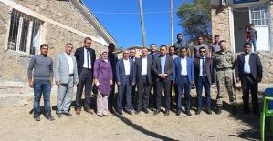 Kaymakam İnan, Başkan Cellek Köy Ziyaretlerine Devam Ediyor