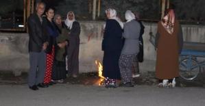 Deprem Paniği Yaşayan Vatandaşlar...