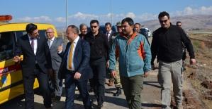 Vali Ali Fuat Atik,Havaalanında Yapılan Çalışmaları İnceledi