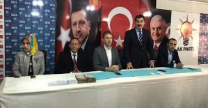 AK Parti Merkez İlçe ve 6 İlçe İçin Temayül Yoklaması Yapıldı