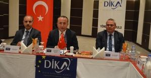 DİKA Yönetim Kurulu Siirt'te Toplandı