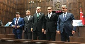 Aktay ve İlçe Belediye Başkanları,...