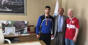 Judo Büyükler Görme Engellilerde Türkiye Birincisi Çıkardık