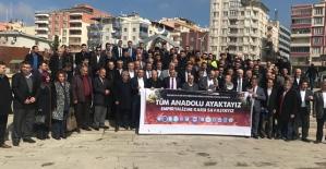 Tüm Anadolu Ayaktayız, Emperyalizme...