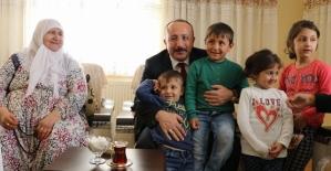 Şehit Aileleri Yalnız Bırakılmadı