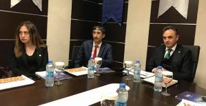 DİKA Genel Sekreteri Yılmaz Altındağ'dan Bilgilendirme Toplantısı