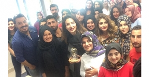 Genç Yazar Emina Temel'le Siirt'te Röportaj